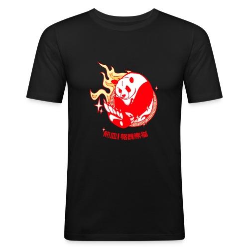 Oso Panda - Camiseta ajustada hombre
