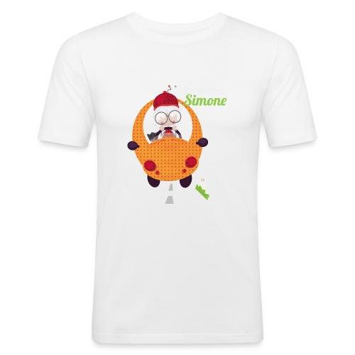 AUTOSIMONE - T-shirt près du corps Homme