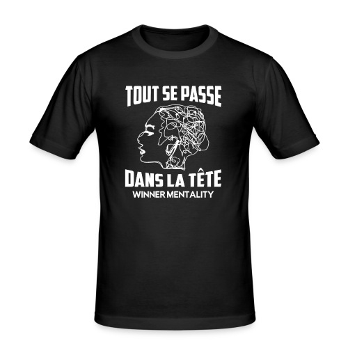 T-shirt motivation - T-shirt près du corps Homme