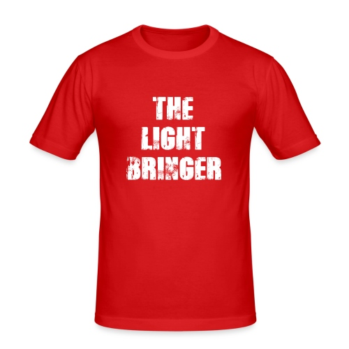 The Lightbringer - Männer Slim Fit T-Shirt