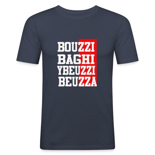 Bouzzi - T-shirt près du corps Homme