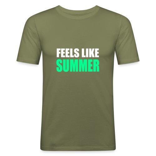 Feels like summer - Männer Slim Fit T-Shirt