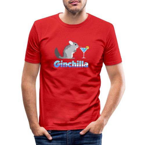 Gin chilla - Funny gift idea - Men's Slim Fit T-Shirt