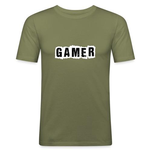 Gamer - Männer Slim Fit T-Shirt