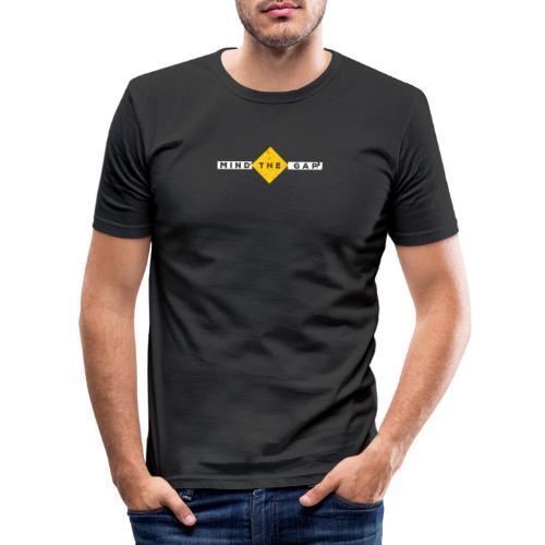London Souvenir - Mind The Gap - Männer Slim Fit T-Shirt