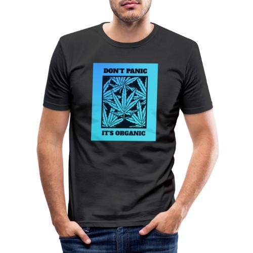 Don´t Panic it´s Organic - Männer Slim Fit T-Shirt