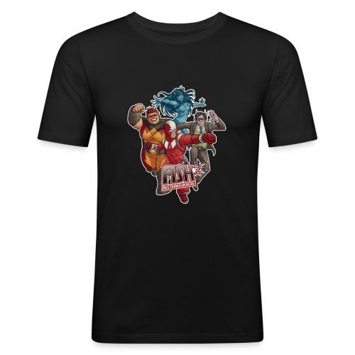 ASH Season 5 - Männer Slim Fit T-Shirt