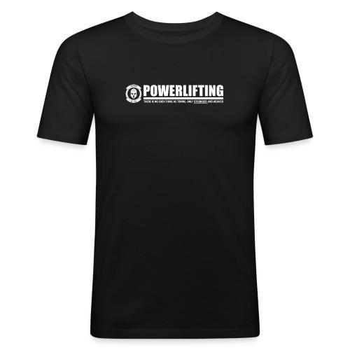 Legion Clothing | Powerlifting - Miesten tyköistuva t-paita