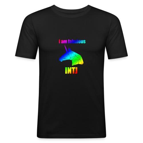 INTJ - Obcisła koszulka męska