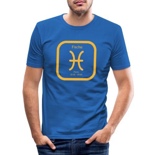 Horoskop Fische12 - Männer Slim Fit T-Shirt