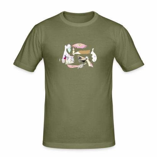 Pintular - Camiseta ajustada hombre