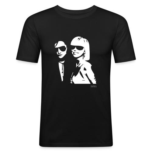 DIVA 04 - Männer Slim Fit T-Shirt