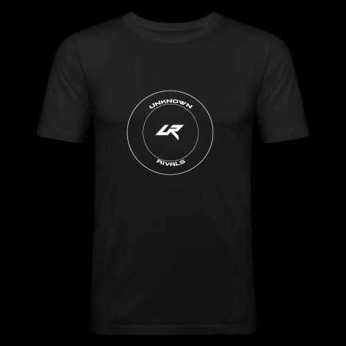 uR LOGO Kreis - Männer Slim Fit T-Shirt