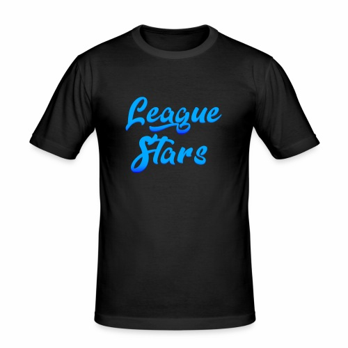 LeagueStars - Mannen slim fit T-shirt