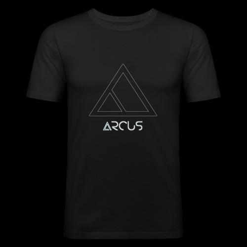Arcus logo Blanc - T-shirt près du corps Homme
