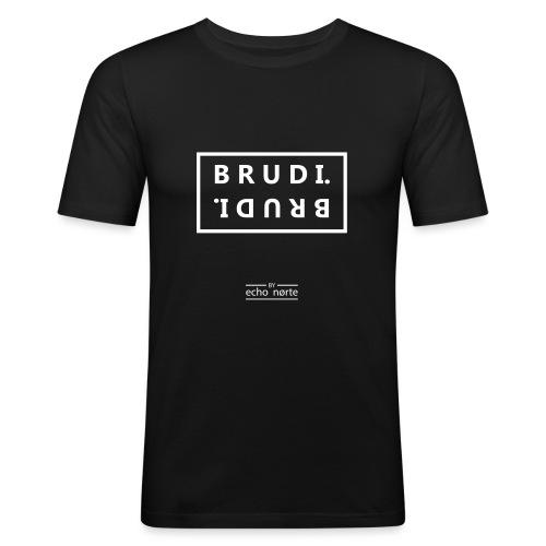 Brummi T-Shirt - Männer Slim Fit T-Shirt