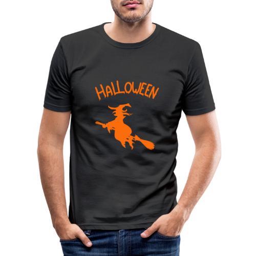 Sorcière Halloween - T-shirt près du corps Homme