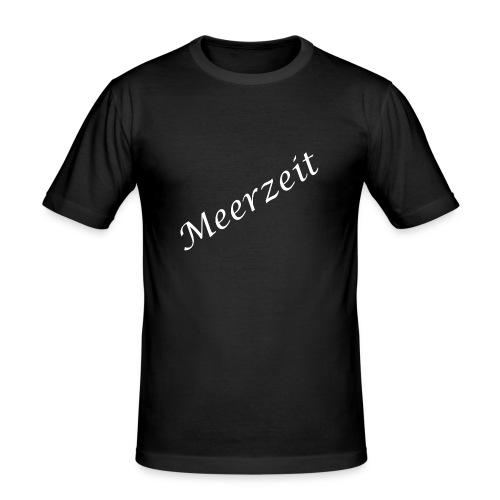 Meerzeit - Männer Slim Fit T-Shirt