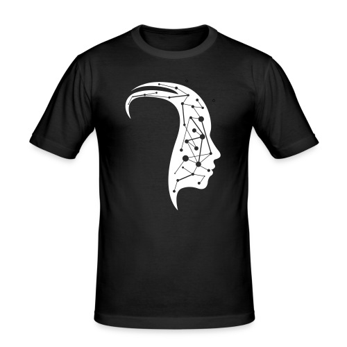 Lost in mind - Männer Slim Fit T-Shirt