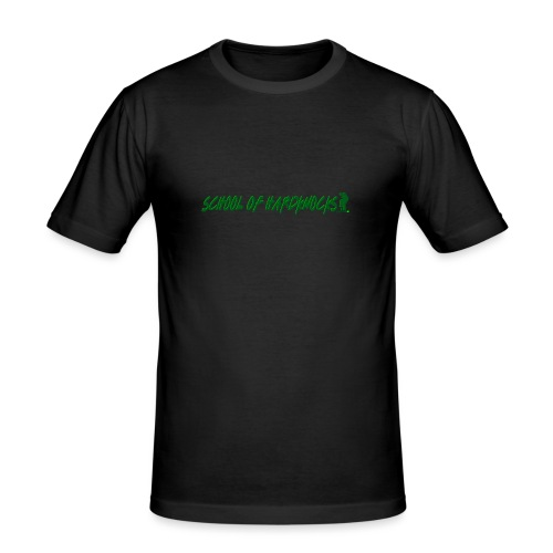 school of hardknocks ver 0 1 green - Herre Slim Fit T-Shirt