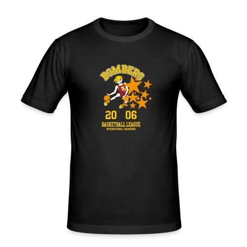 tshirt design bomber kinder - Männer Slim Fit T-Shirt