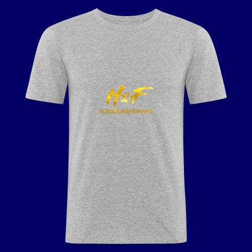 h f gold2 - Maglietta aderente da uomo