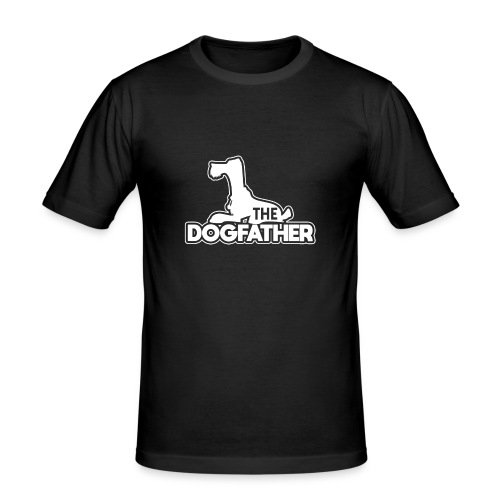 The DOGFATHER - Männer Slim Fit T-Shirt