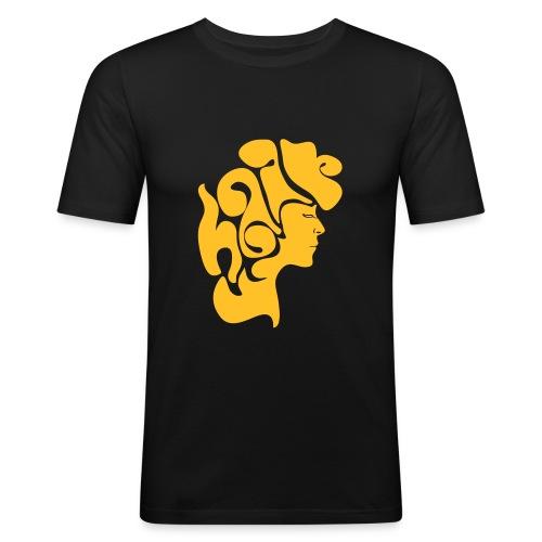hair3 - Männer Slim Fit T-Shirt