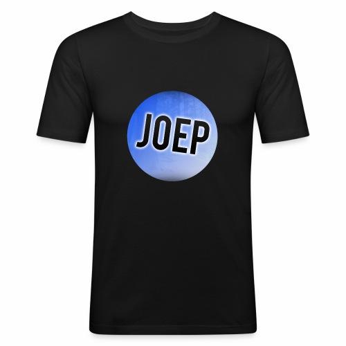 Mannen T-Shirt met logo - Mannen slim fit T-shirt