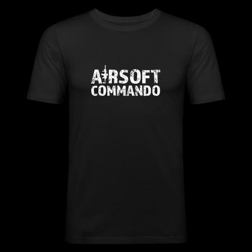 Airsoft Commando - Männer Slim Fit T-Shirt