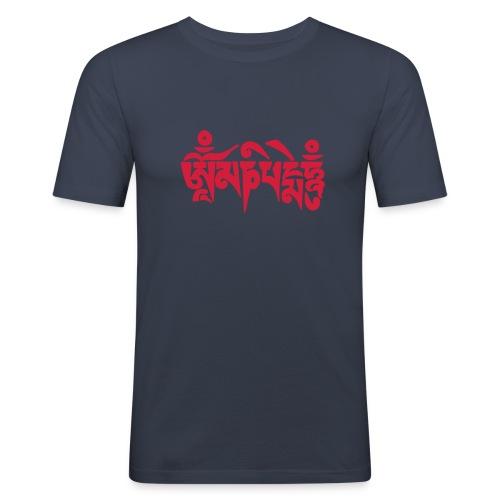om mani padme hum - Männer Slim Fit T-Shirt