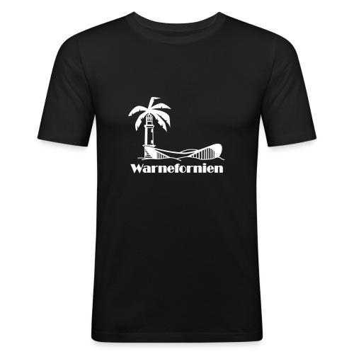 rostock5 fo rz vcs - Männer Slim Fit T-Shirt