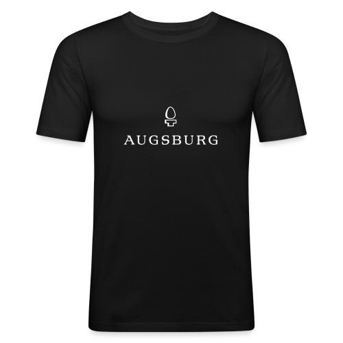 Augsburg Zirbelnuss - Männer Slim Fit T-Shirt