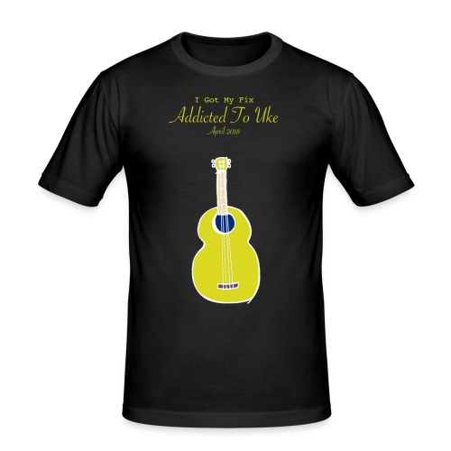 Addicted To Uke Spring 2018 Souvenir - Men's Slim Fit T-Shirt