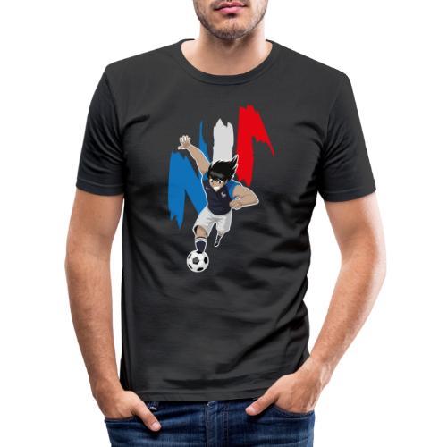 HYUGA FRANCE - COUPE DU MONDE - RUSSIE 2018 - T-shirt près du corps Homme