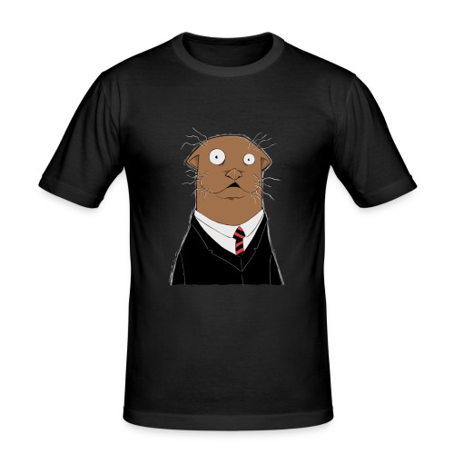 Office Otter - Männer Slim Fit T-Shirt