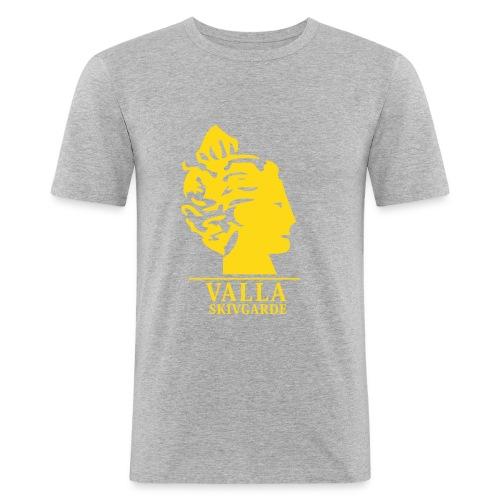 vallalogga2 - Slim Fit T-shirt herr