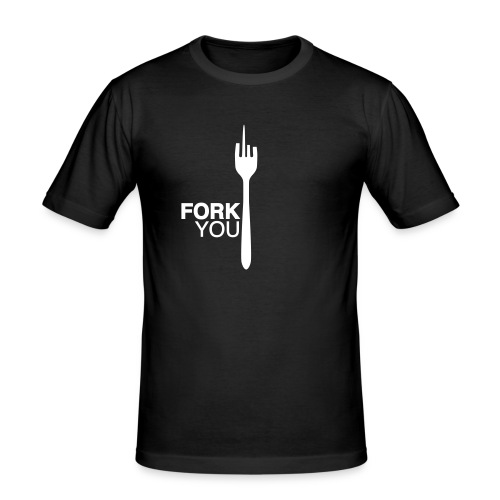 forkyou - Mannen slim fit T-shirt