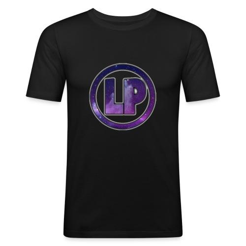 Luxipuff Logo - Herre Slim Fit T-Shirt