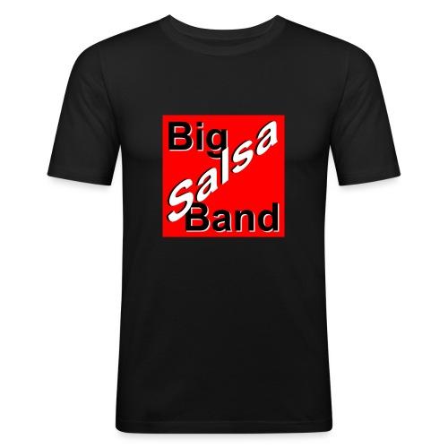 bsblogo groot - Mannen slim fit T-shirt