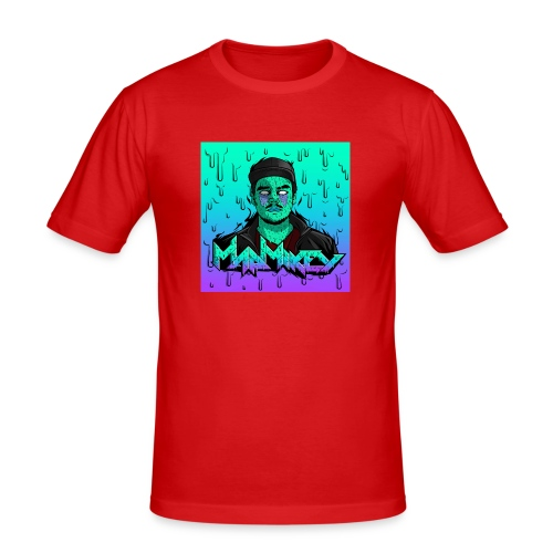MadMikey Grime Art Sticky Green - slim fit T-shirt