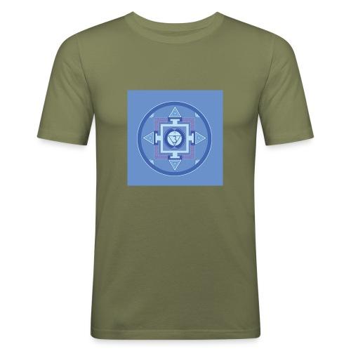 Ajna - Third Eye Chakra - Miesten tyköistuva t-paita