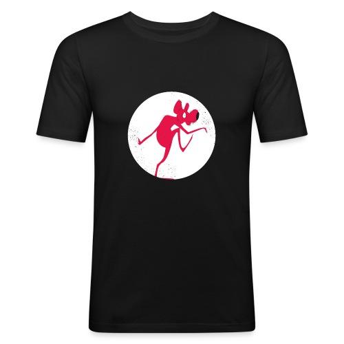 Rat prenant la poudre d'escampette - T-shirt près du corps Homme