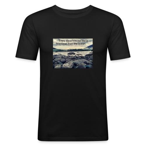 Oceanheart - Slim Fit T-skjorte for menn