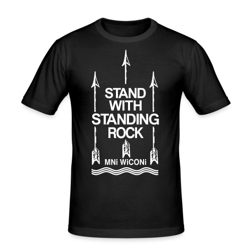 Stand - Herre Slim Fit T-Shirt