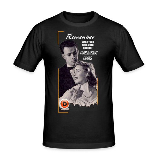 vintage advice - Men's Slim Fit T-Shirt