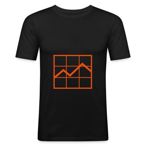 trader - T-shirt près du corps Homme
