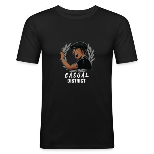 CasualDistrict - Mannen slim fit T-shirt