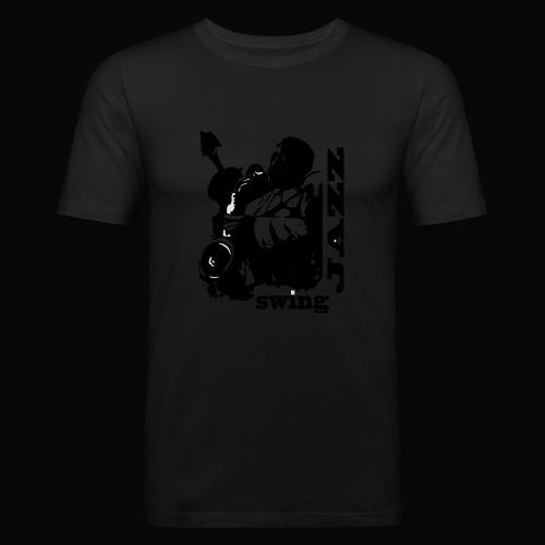 saxofonista - Camiseta ajustada hombre
