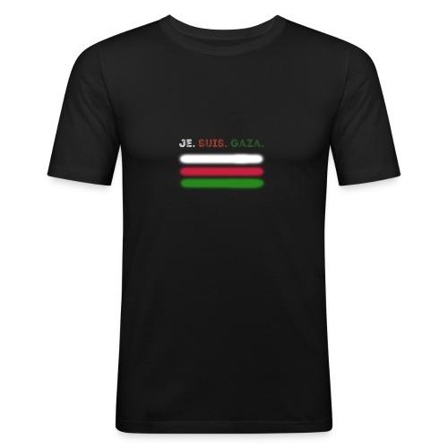 Je Suis Gaza - Herre Slim Fit T-Shirt